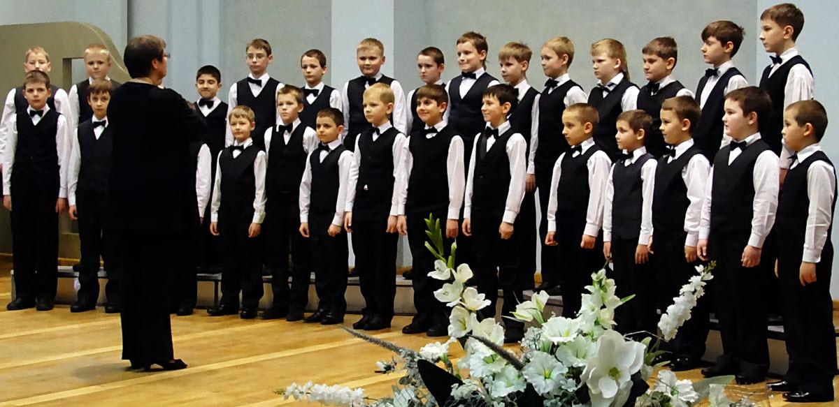 Хор мальчиков «CREDO» средней школы №159 г. Минскa